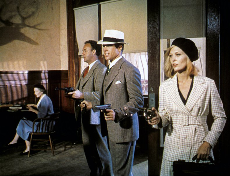 Gene Hackman in Bonnie and Clyde