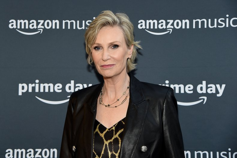 Jane Lynch at Amazon Prime Day concert