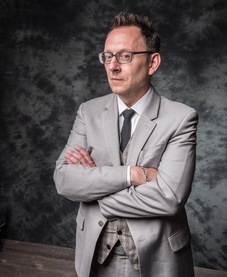 Michael Emerson at 2014 Upfronts