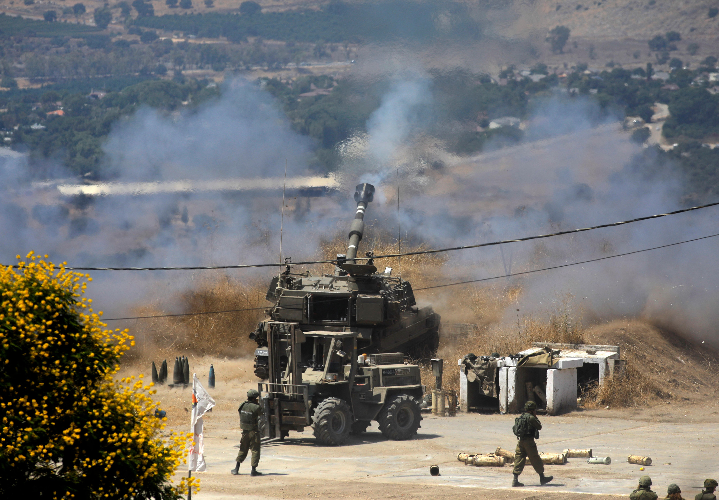 U.N. Forces Plead for Calm as Israel Strikes Continue on Lebanon After Rocket Attacks