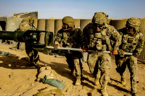 US, troops, artillery, training, Syria