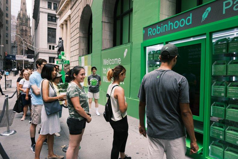 Robinhood Kiosk