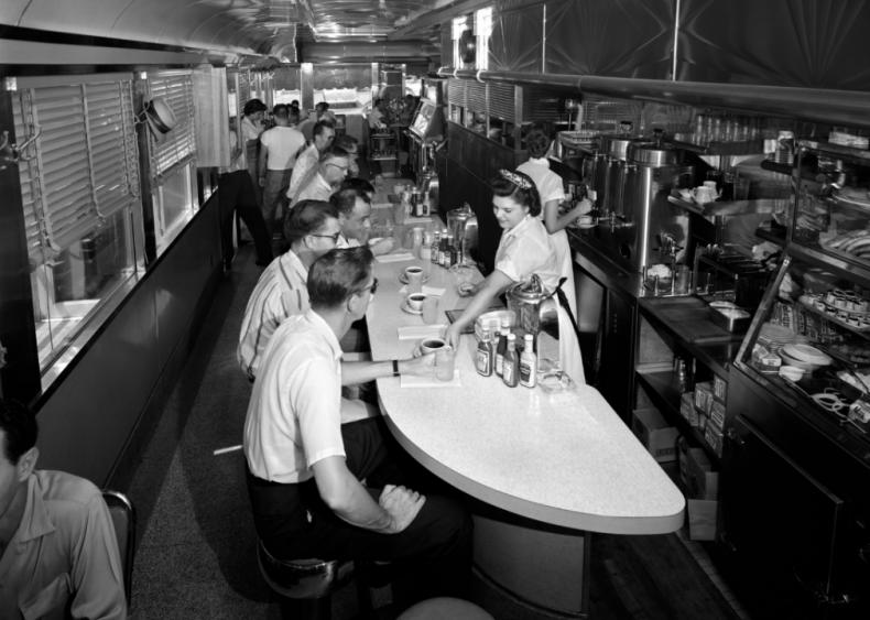 1950s: Secretarial classes at college