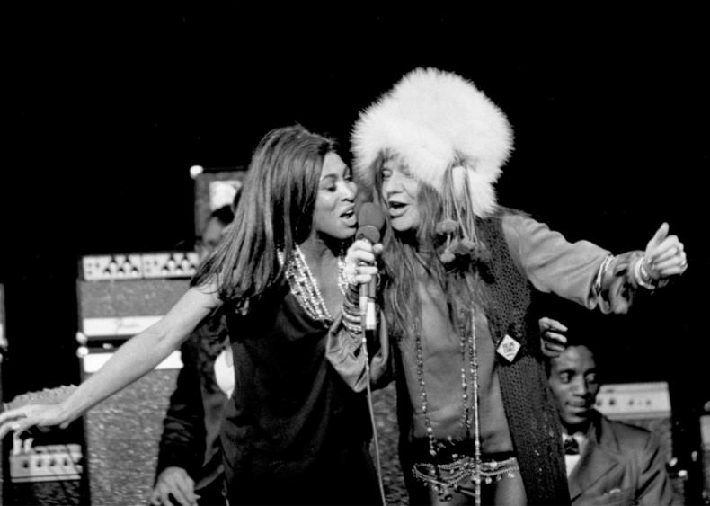 1969: Singing with Tina Turner