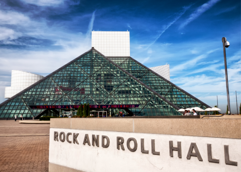 1995: Induction into the Rock and Roll Hall of Fame