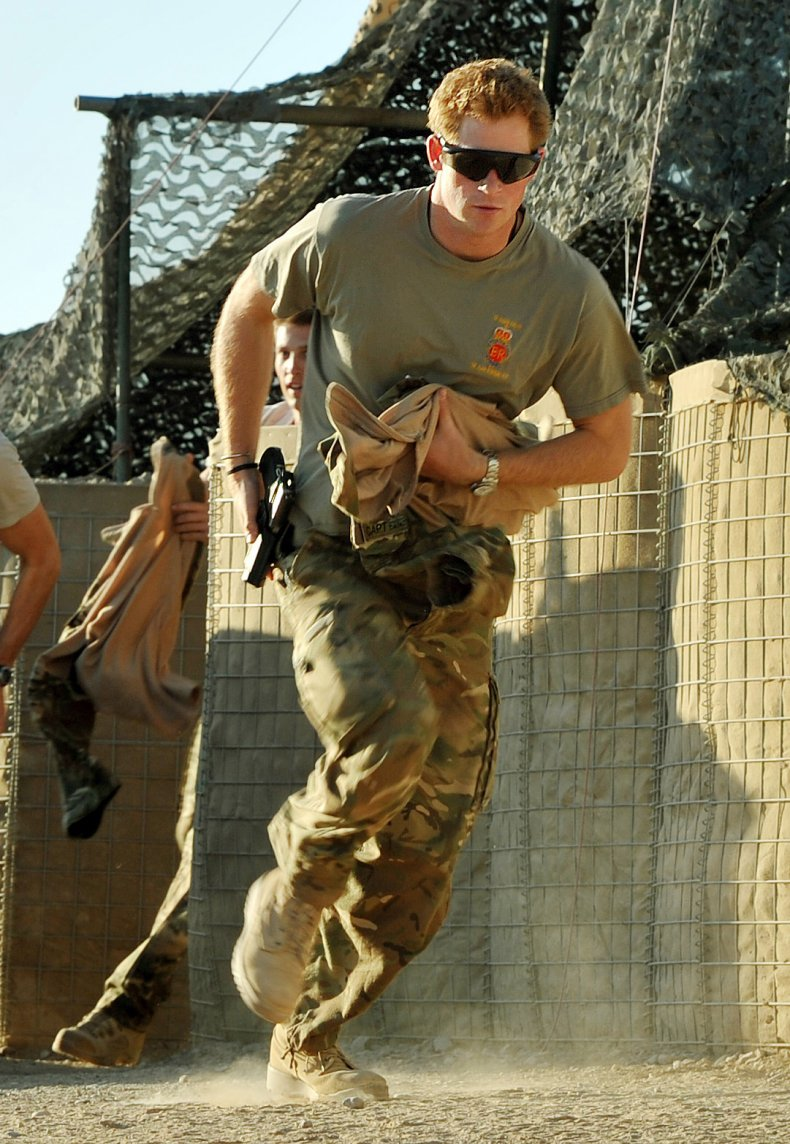 Prince Harry Serves in the Armed Forces