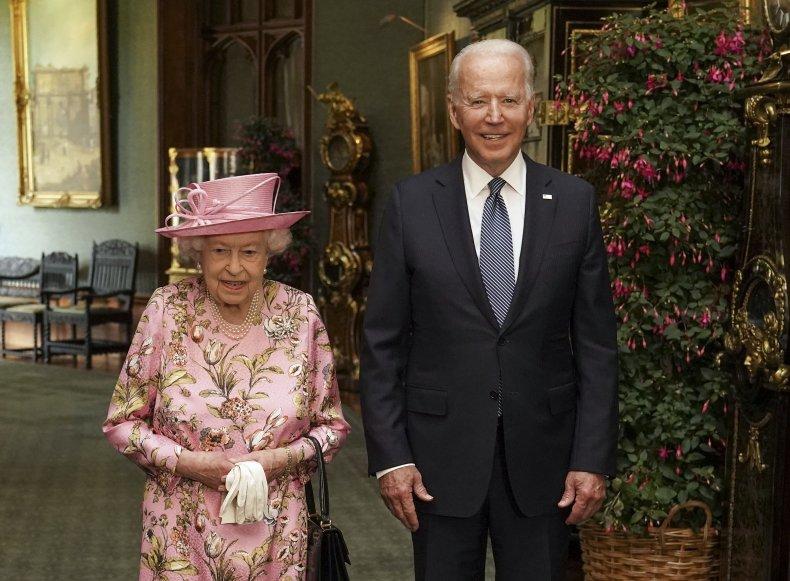 Queen Elizabeth Meets Joe Biden