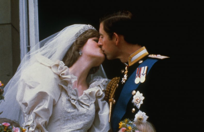 Princess Diana and Prince Charles' Wedding