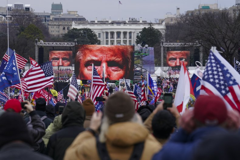 Donald Trump's Supporters on Jan. 6