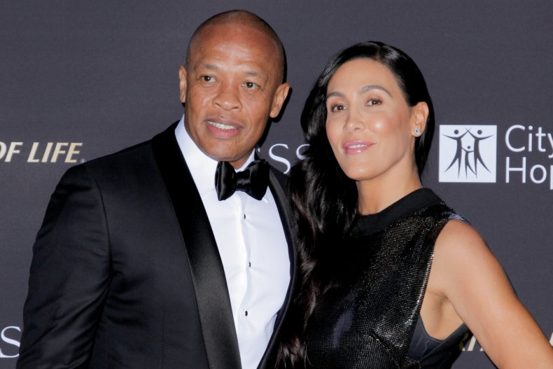Dr. Dre and ex Nicole Young