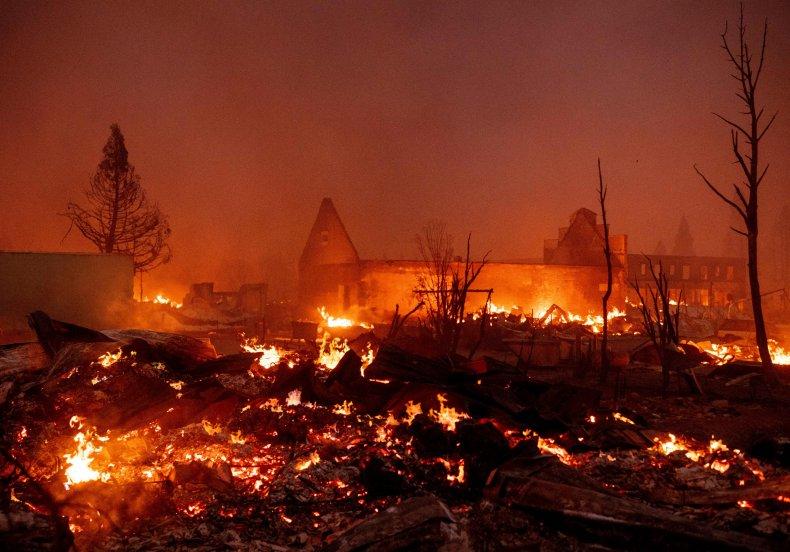 Dixie Fire destroys Greenville