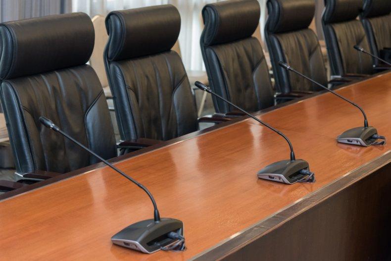 Stock photo parole hearing