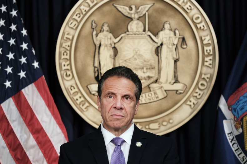 New York Governor Cuomo Makes Announcement In