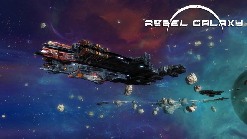 Rebel Galaxy Keyart