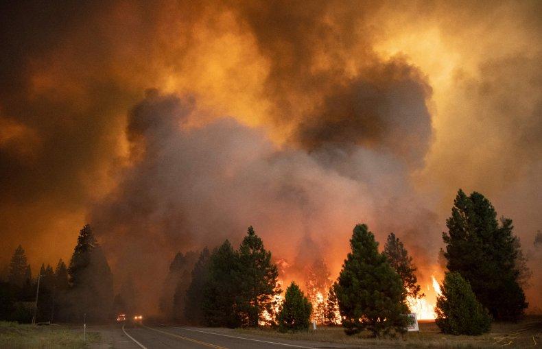 Dixie Fire Grows 50K Acres Overnight