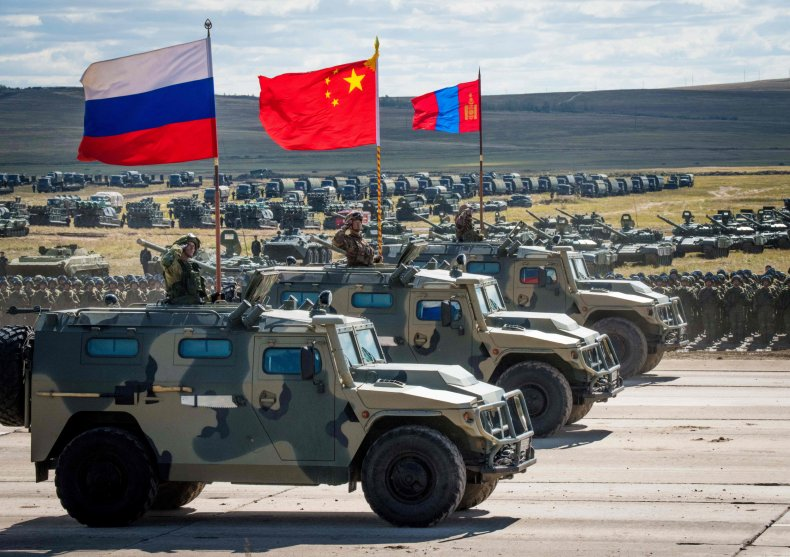China, Russia, Mongolia, Vostok, joint, exercise, 2018