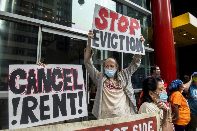 Eviction Moratorium Lapse Protest