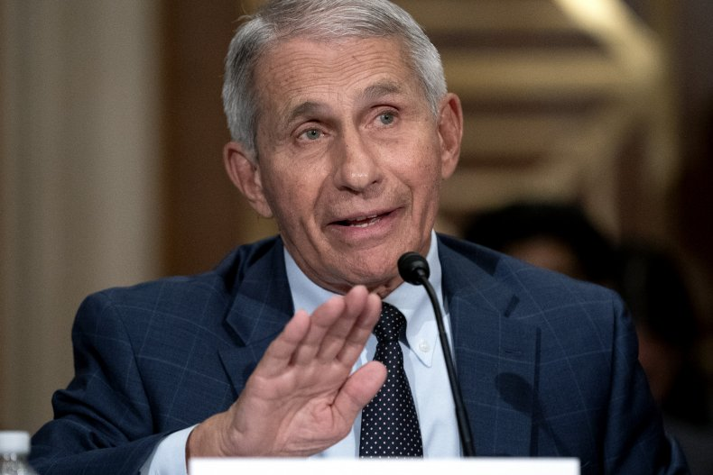 Anthony Fauci COVID-19 Delta Variant Vaccines Vaccination