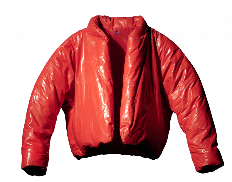 The Yeezy Gap Round Jacket in red