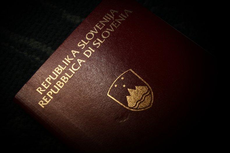 Slovenian passport