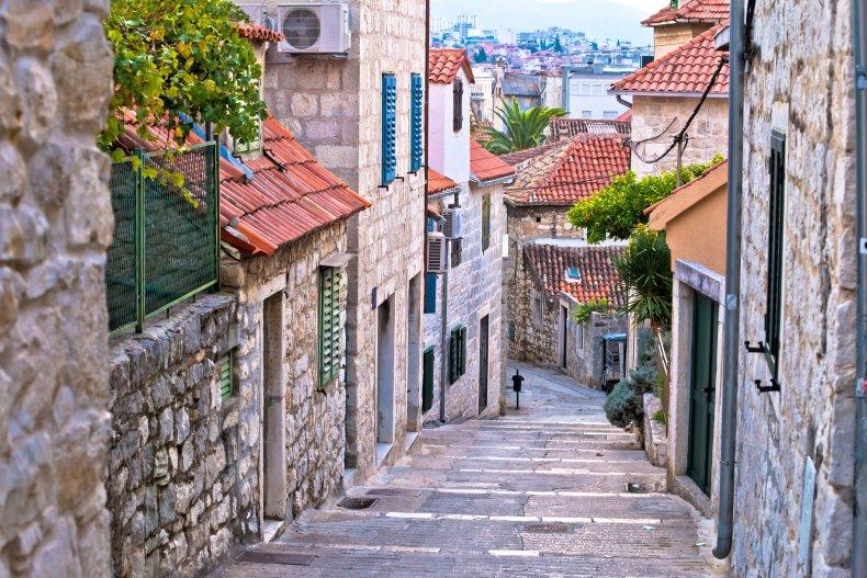 Split in Croatia