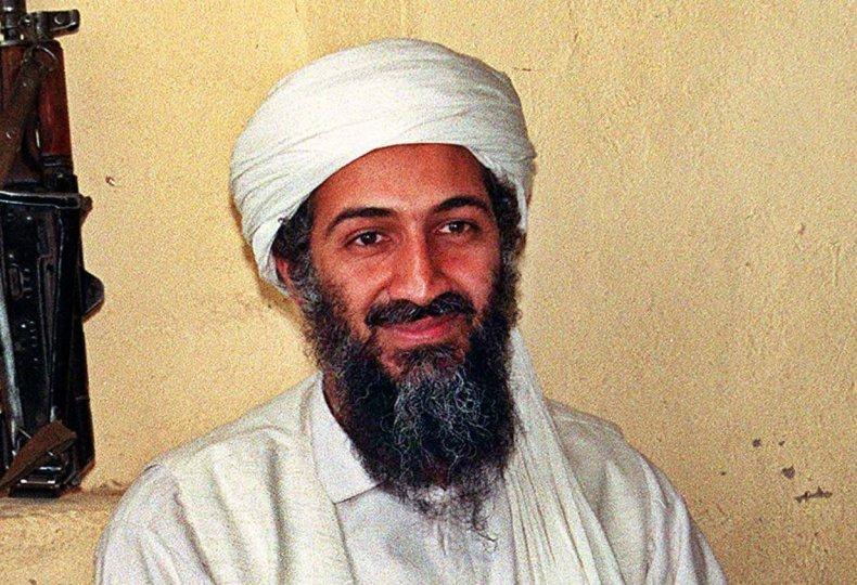 Image of Osama Bin Laden.