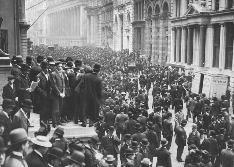 1907: Panic of 1907