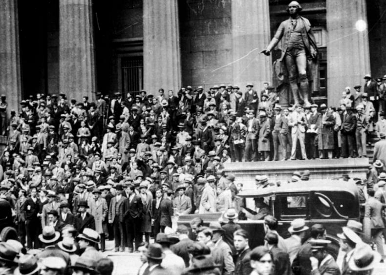 1929: Stock market crash