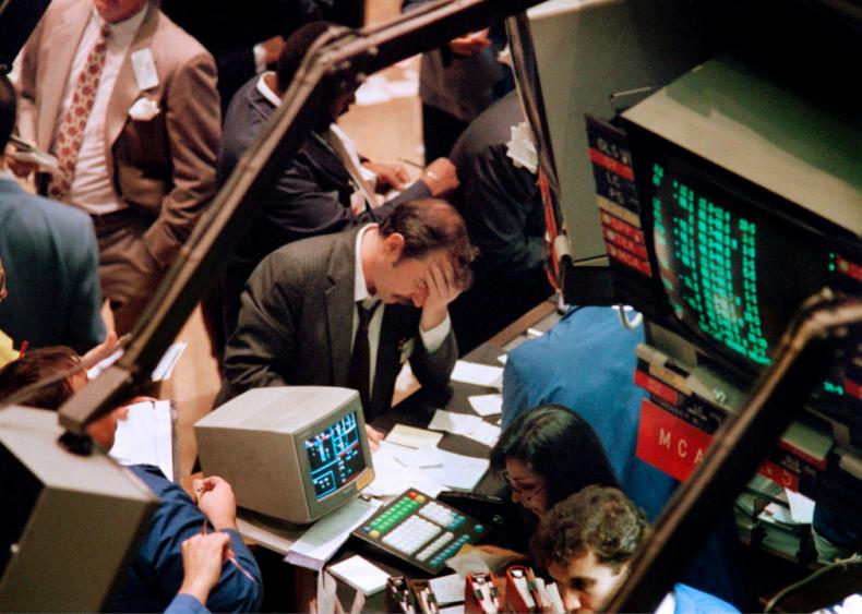 1987: Black Monday crash