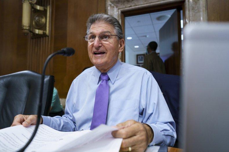 Joe Manchin Backs Infrastructure Budget