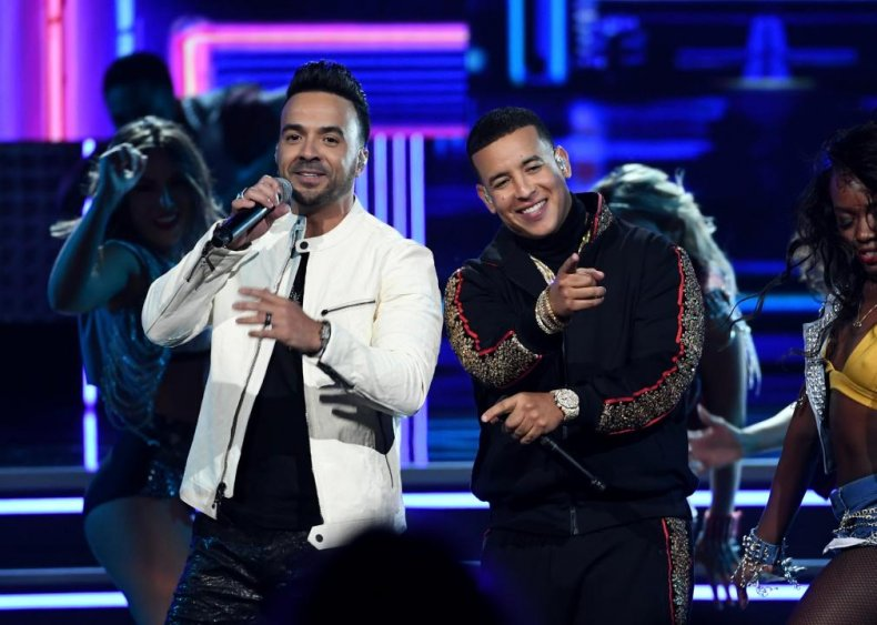 'Despacito' by Luis Fonsi and Daddy Yankee (feat. Justin Bieber)