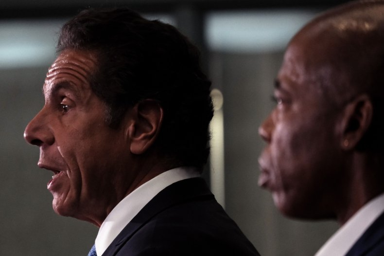Cuomo's Lawyers Deny Sexual Harassment Allegations