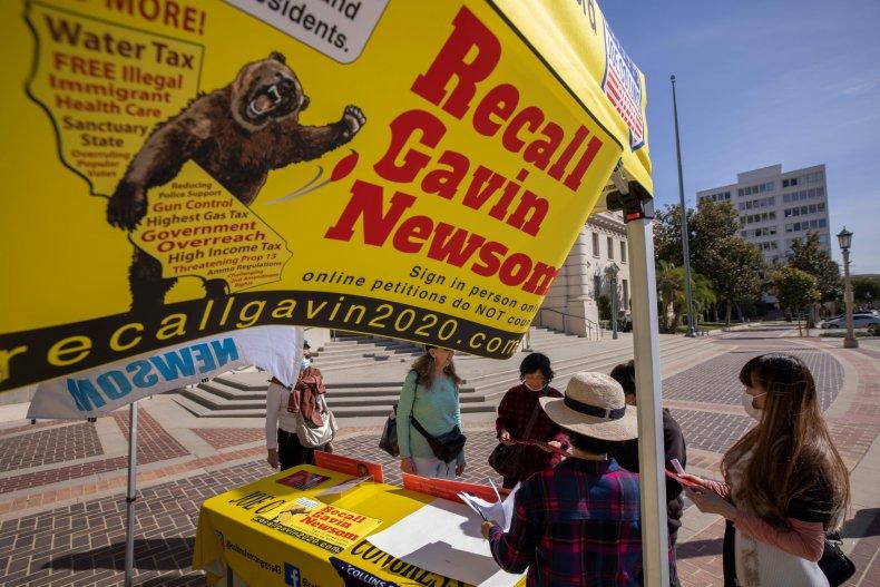 Recall Gavin Newsom petition