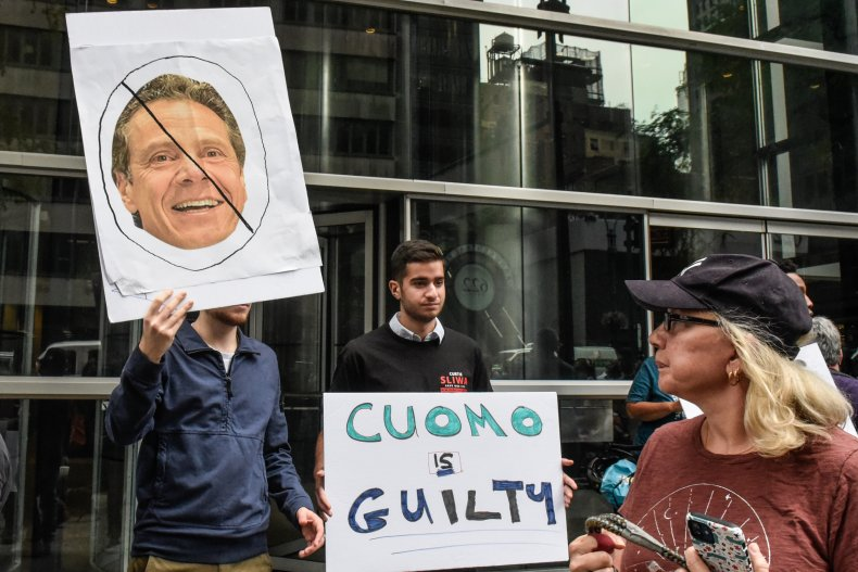 Andrew Cuomo Sexual Harassment Criminal Charges Poll