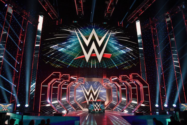 WWE Logos Are Shown on Screens