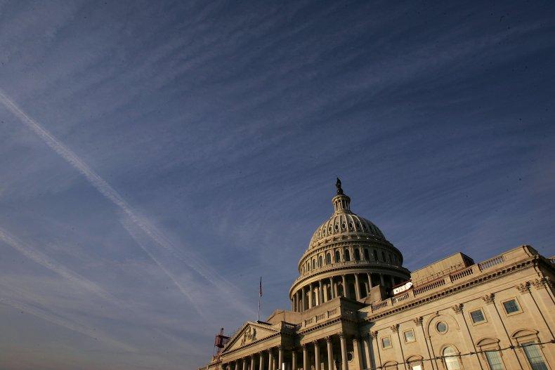 Stimulus checks U.S. Capitol Building D.C.