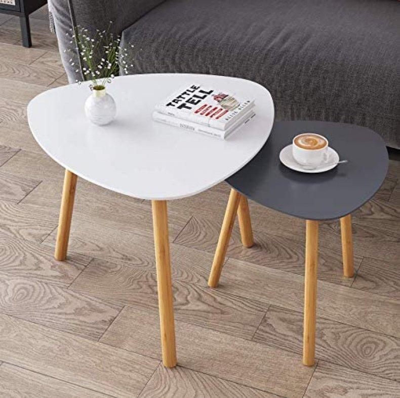 Environmentally friendly nesting tables