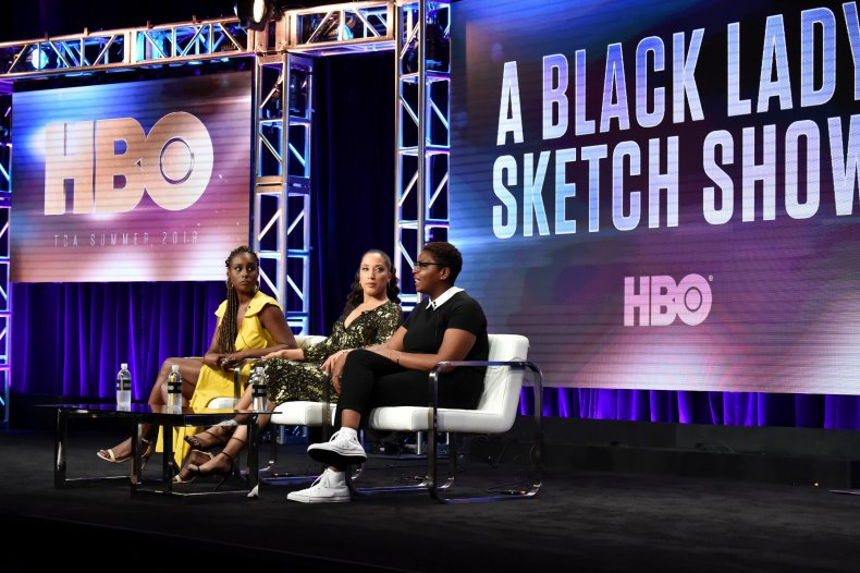 Issa Rae, Robin Thede, and Dime Davis