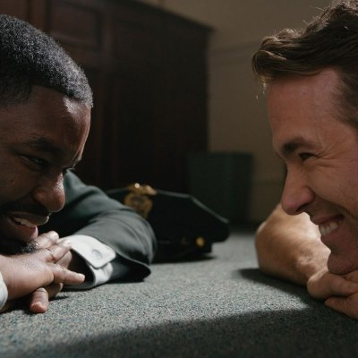 A production still of Free Guy