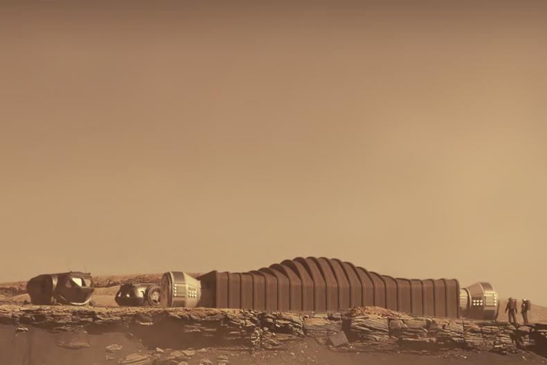 Mars Dune Alpha habitat