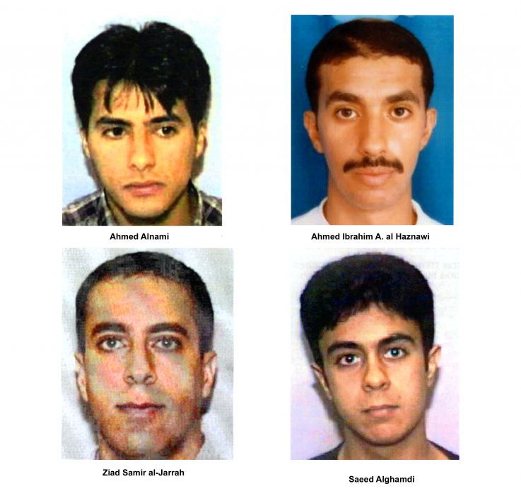 9/11 photos hijackers timeline