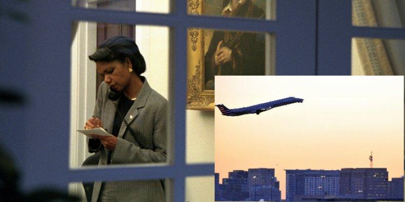 condoleezza rice 9/11 boston airport hijackers