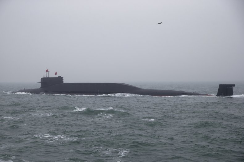 China Nuclear Submarines Participates In Naval Parade