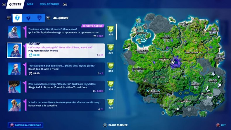 Epic Quests in Fortnite