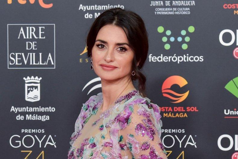 Spanish actress Penélope Cruz