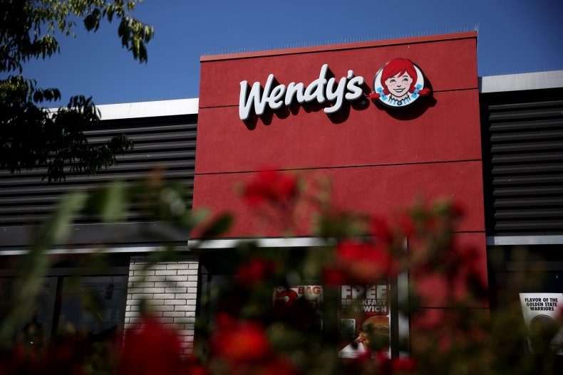 A Wendy's in California in 2021.