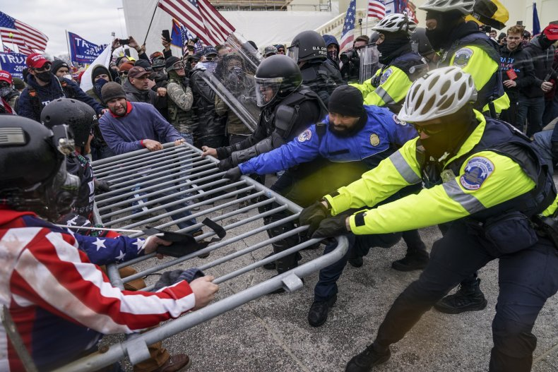 Man in Capitol Riot Out on Bond