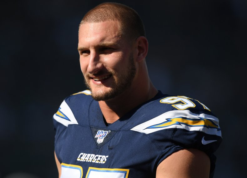Joey Bosa of the Los Angeles Chargers