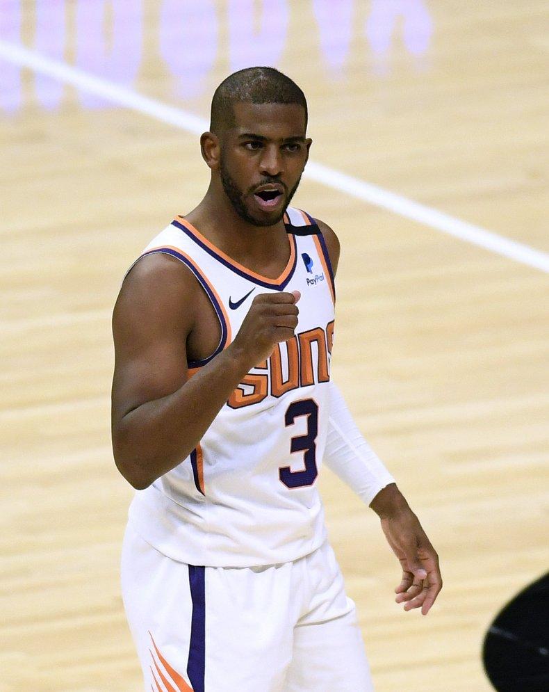 Chris Paul playing for Phoenix Suns