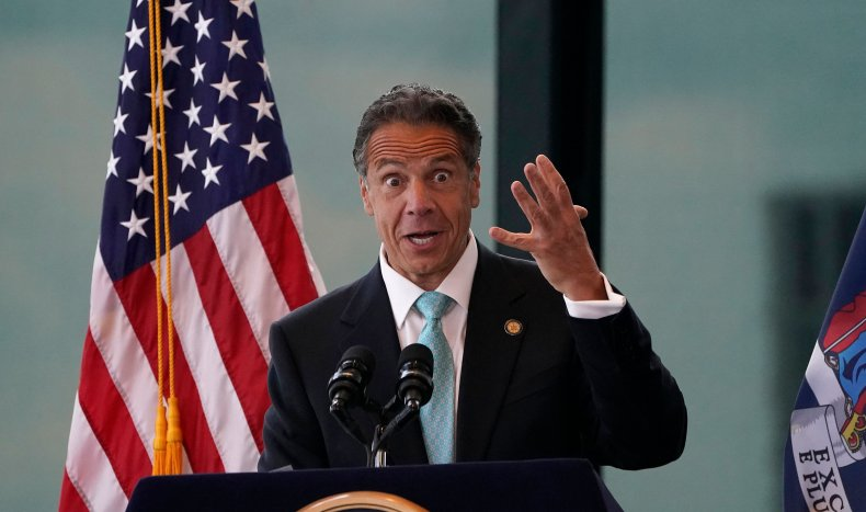 Governor Andrew Cuomo Speaks About COVID-19 Restrictions